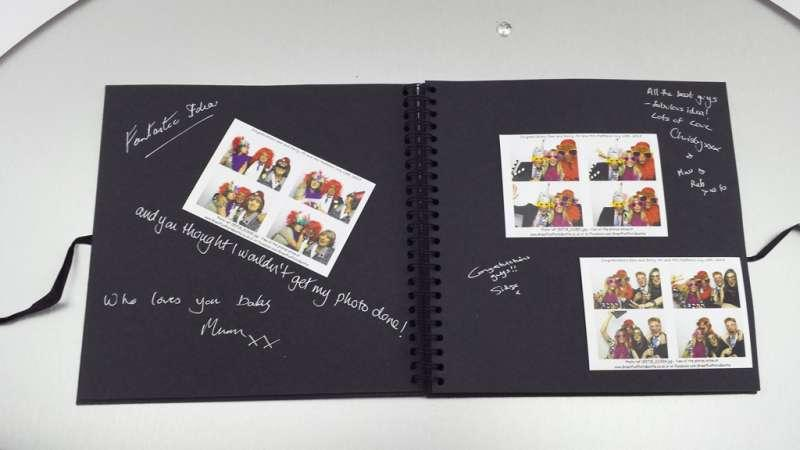 Photograph Album with booth hire, norwich