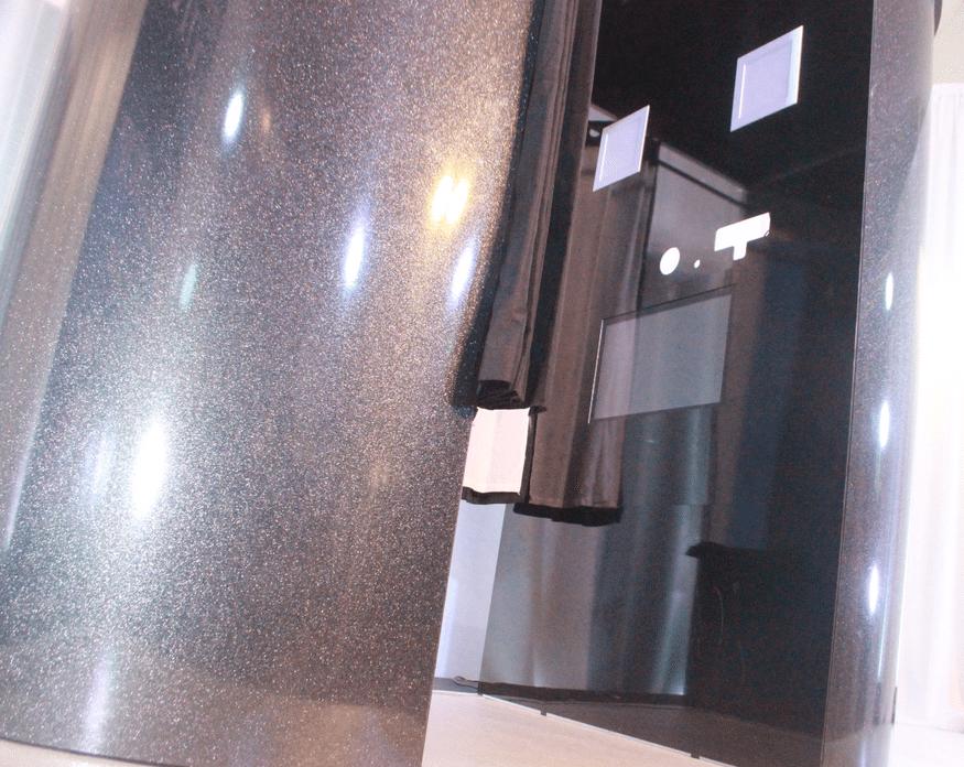 sleek design photo booth