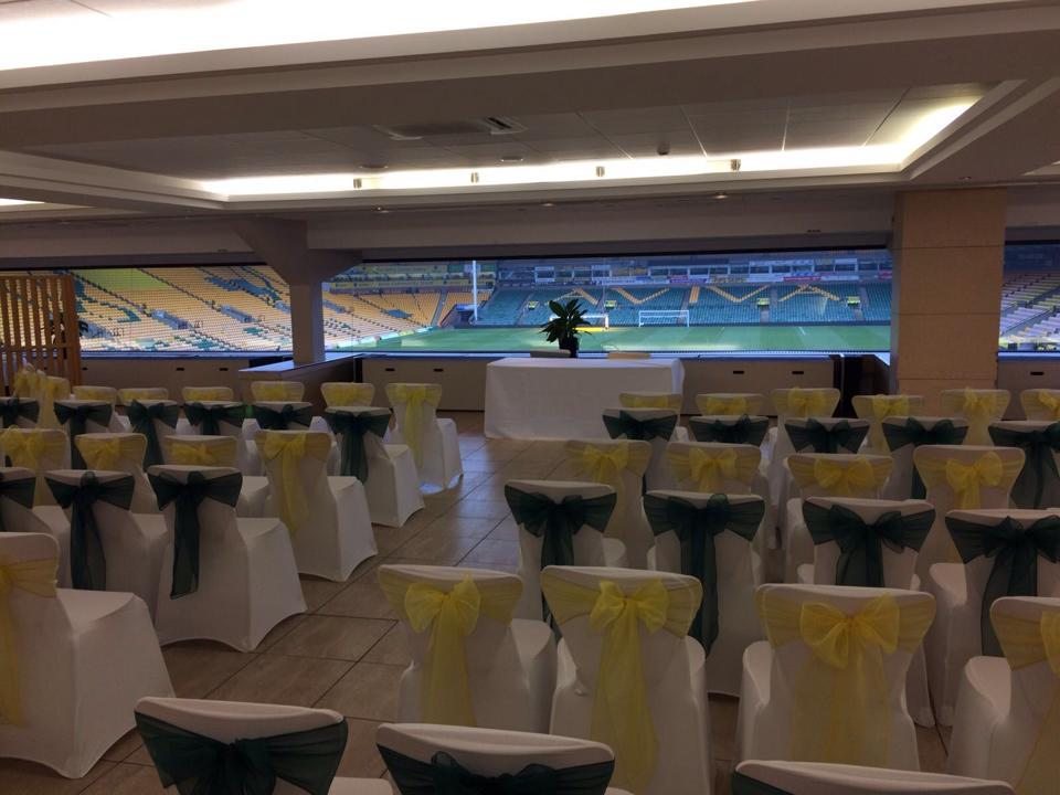 Norwich City Football Club Chair Covers