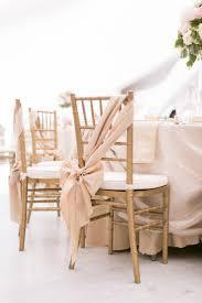 chair sash on chiavari chair in marquee