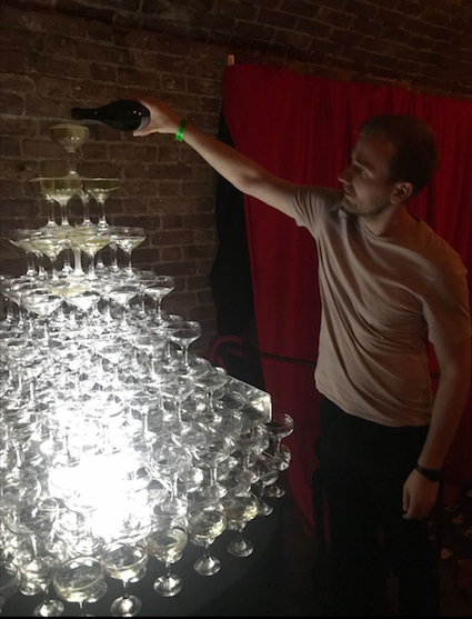 Chelmsford Champagne Tower Hire