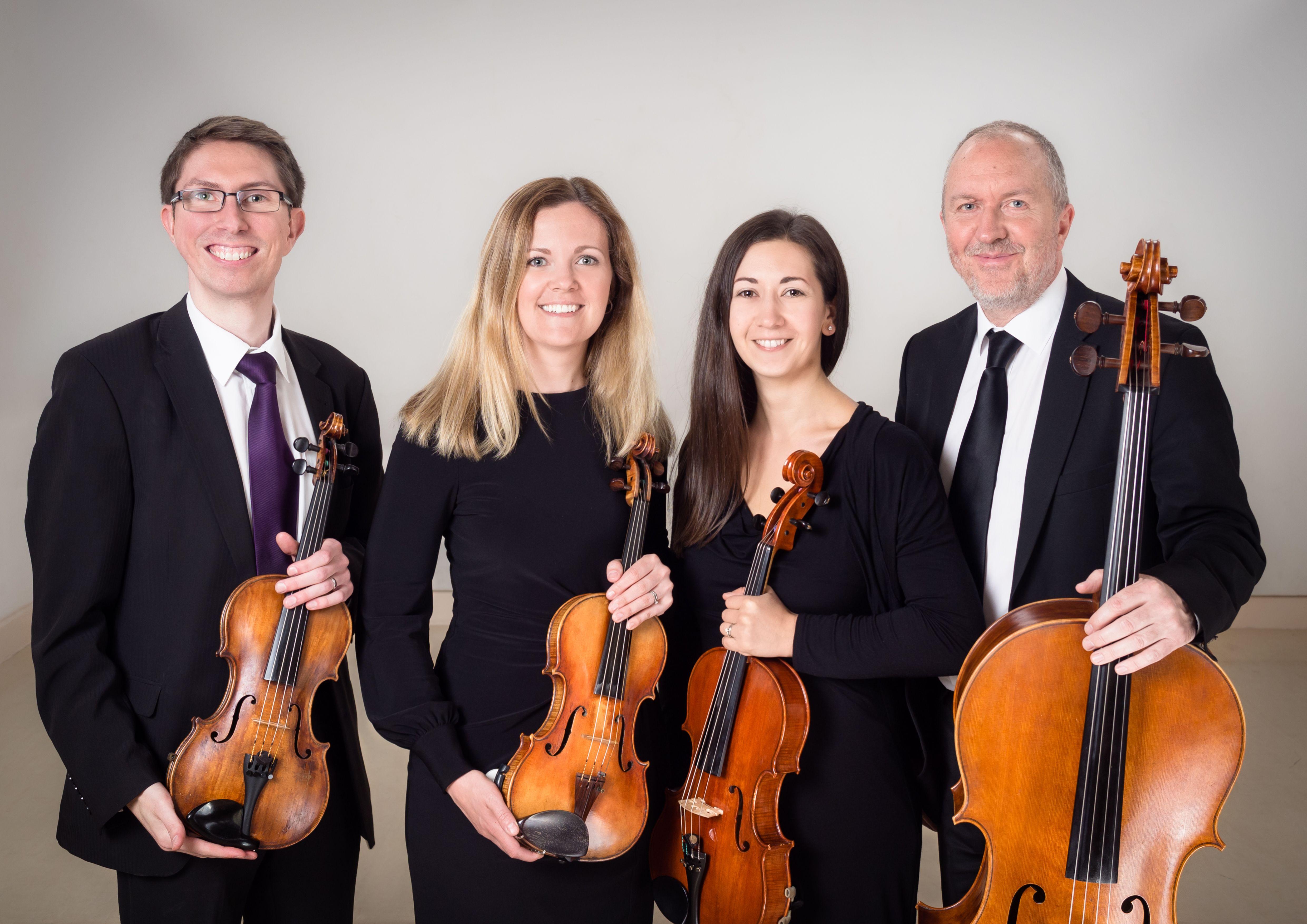 Kavolini String Quartet Norfolk Violin Viola Cello
