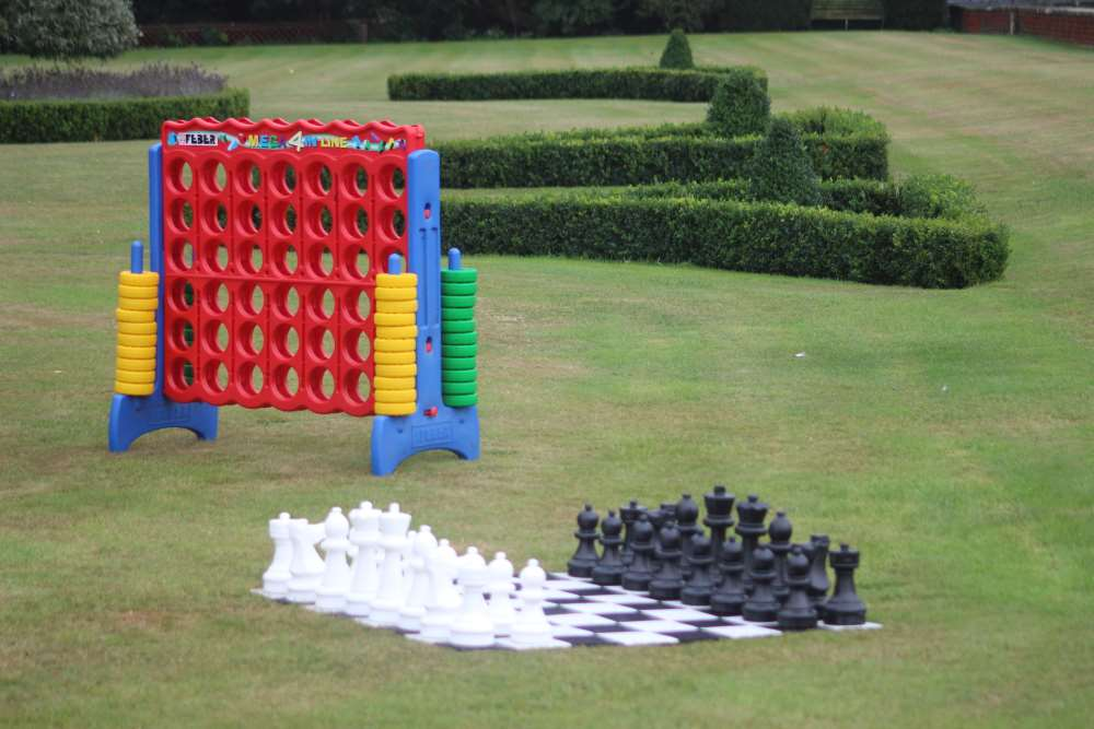 Giant Chess and Connect 4