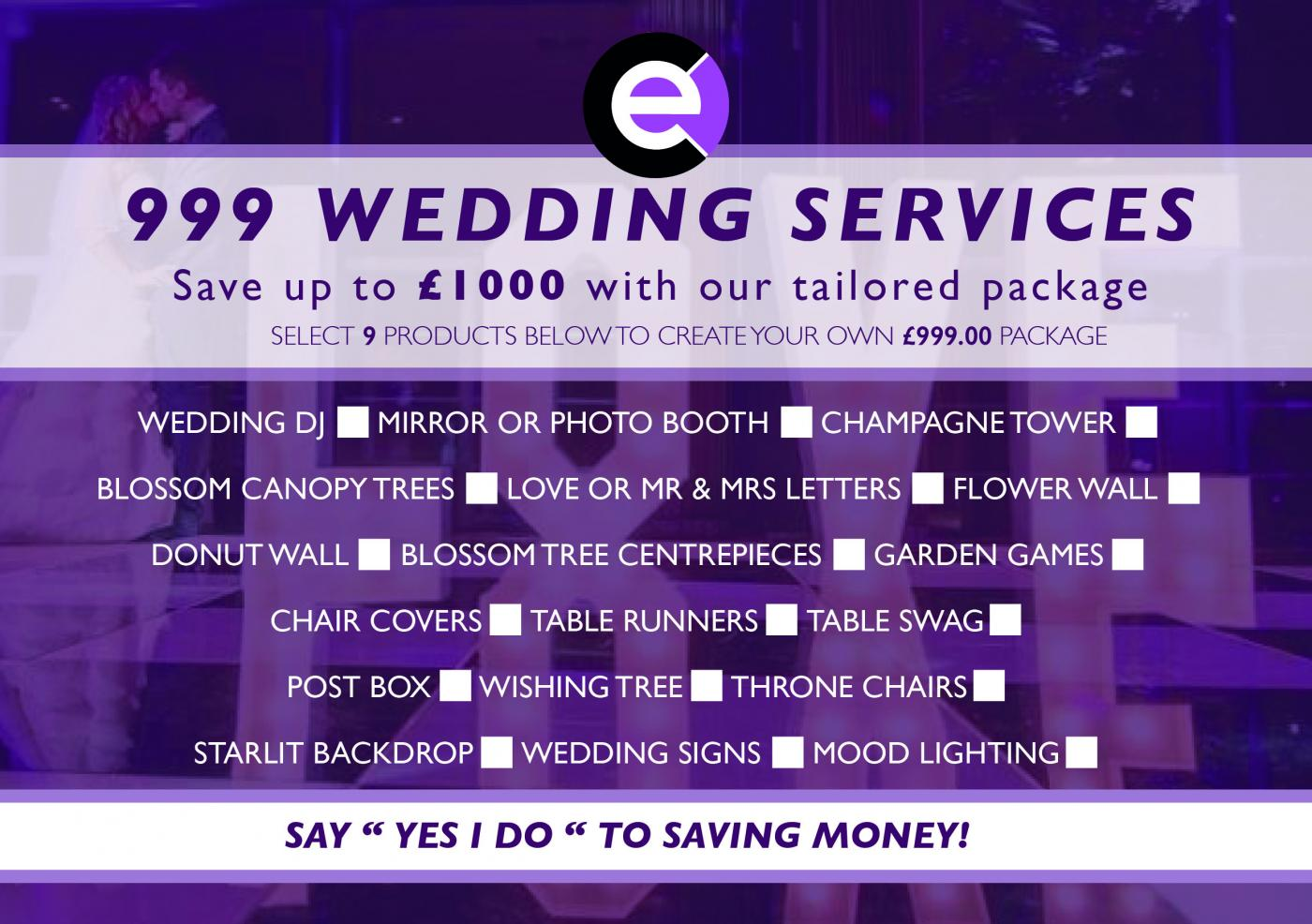 save money on wedding items in norwich