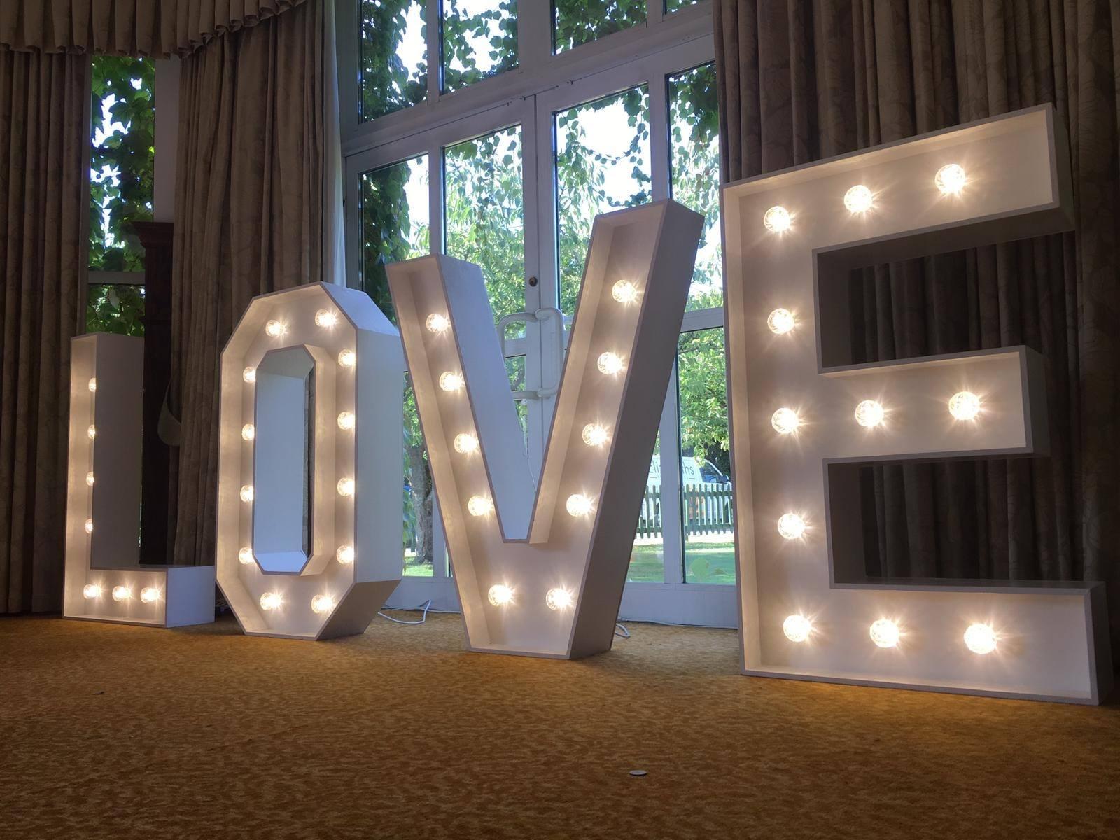 LOVE Letter Hire Norwich