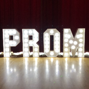 PROM Letters Hire